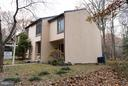 Large side yard for this beautiful end unit - 2358 SOFT WIND CT, RESTON