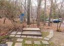 Visitors  park & walk right up to your grill patio - 2358 SOFT WIND CT, RESTON