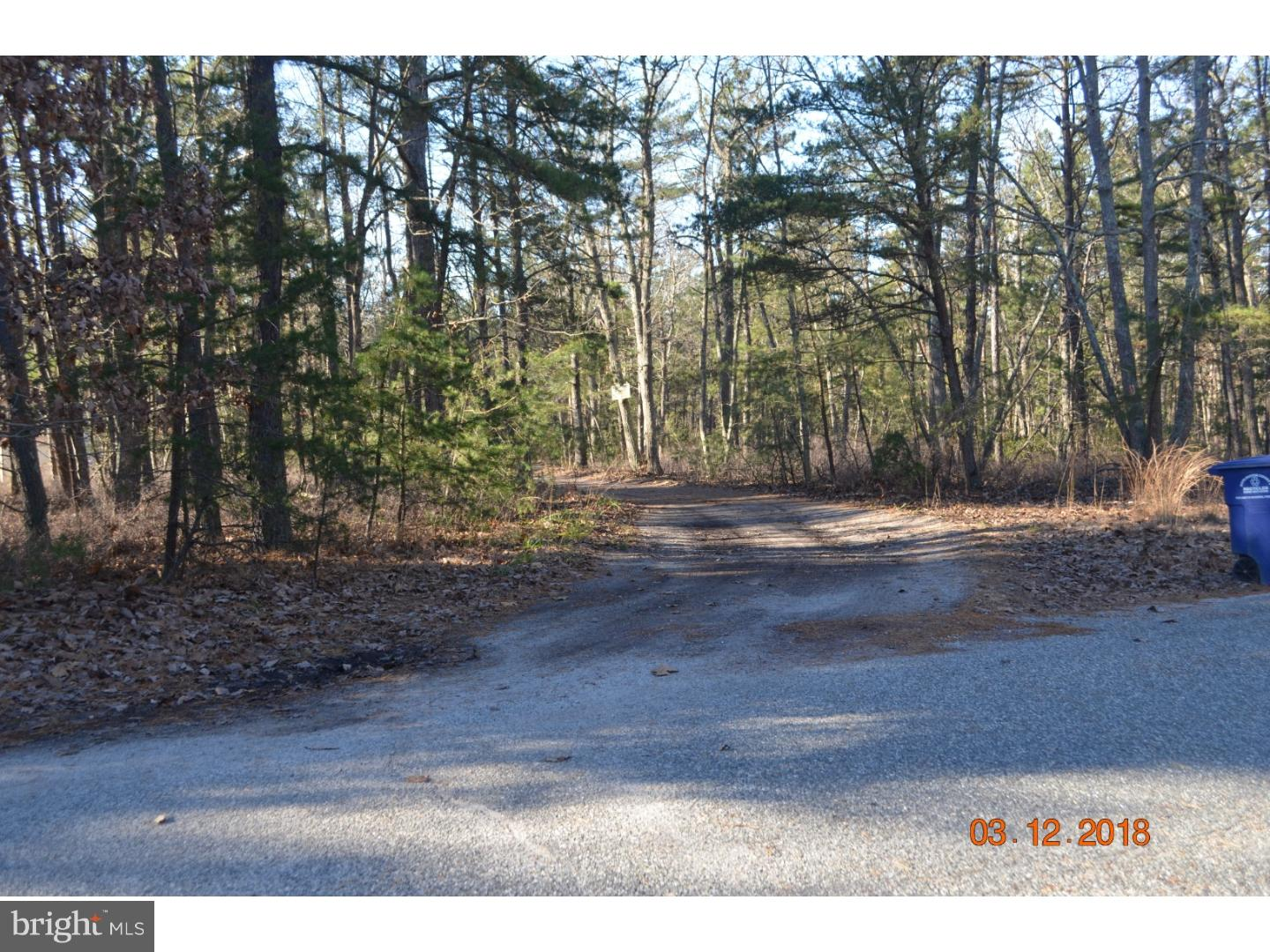 Land for Sale at 9NONE STEEPLEBUSH Trail Vincentown, New Jersey 08088 United States