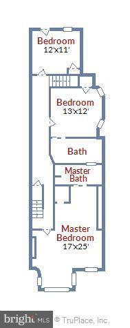 Upper Level 2 - 1207 KENYON ST NW, WASHINGTON