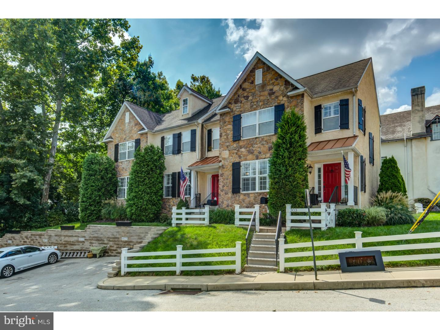 Photo of home for sale at 301 Ford Street, West Conshohocken PA
