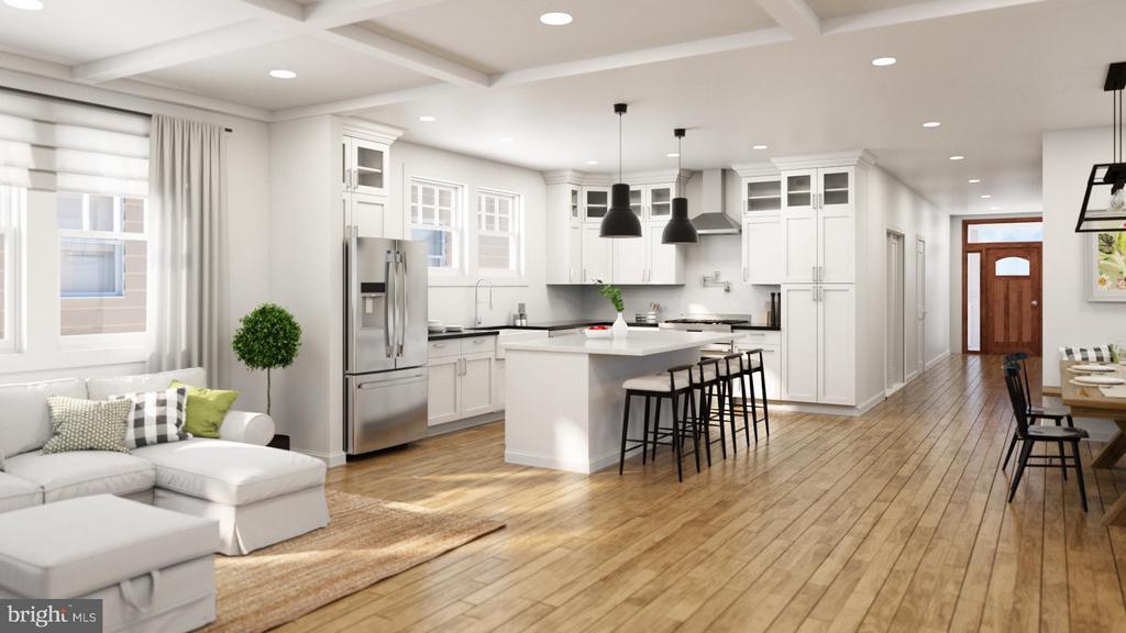 Kitchen - 5718 4TH ST N, ARLINGTON