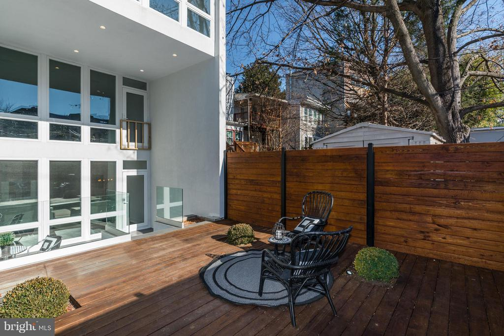 FIRST AND SECOND FLOOR OUTDOOR TERRACE - 3722 R ST NW, WASHINGTON