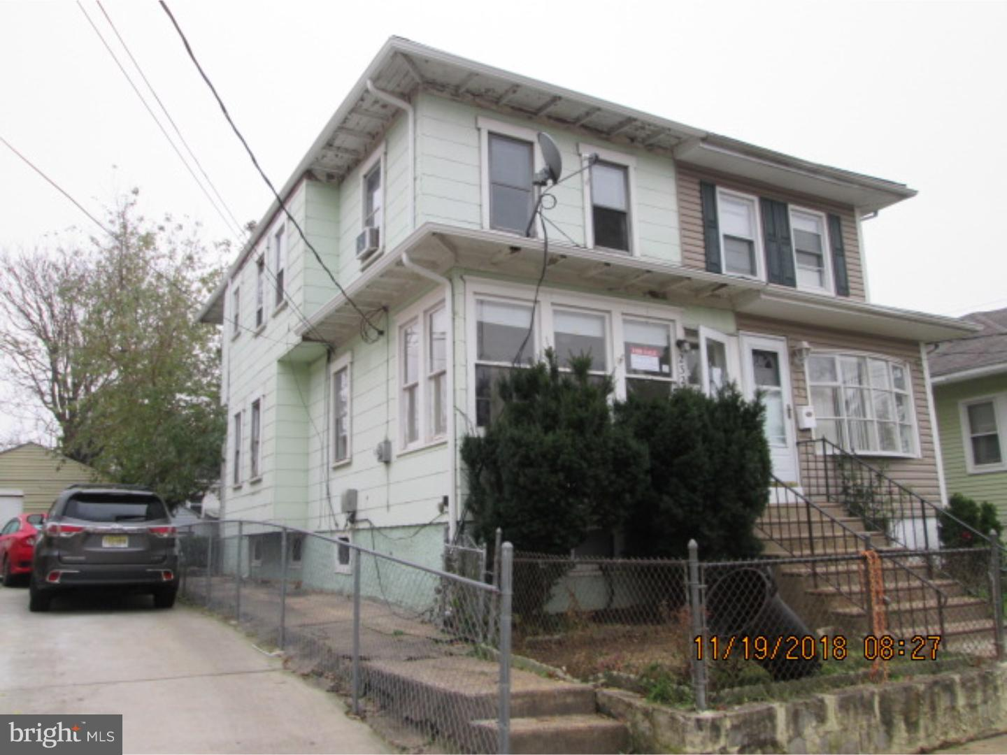 Single Family Home for Sale at 232 ELM Avenue Woodlynne, New Jersey 08107 United States
