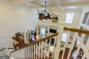 Another view of ceiling, fan and bookcases - 17041 SILVER ARROW DR, DUMFRIES