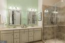 Upgraded glazed linen cabinets - 17041 SILVER ARROW DR, DUMFRIES