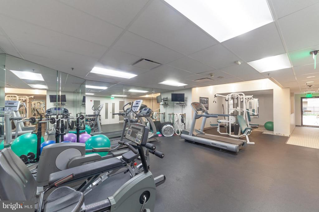 Exercise Room - 10001 WINDSTREAM DR #207, COLUMBIA