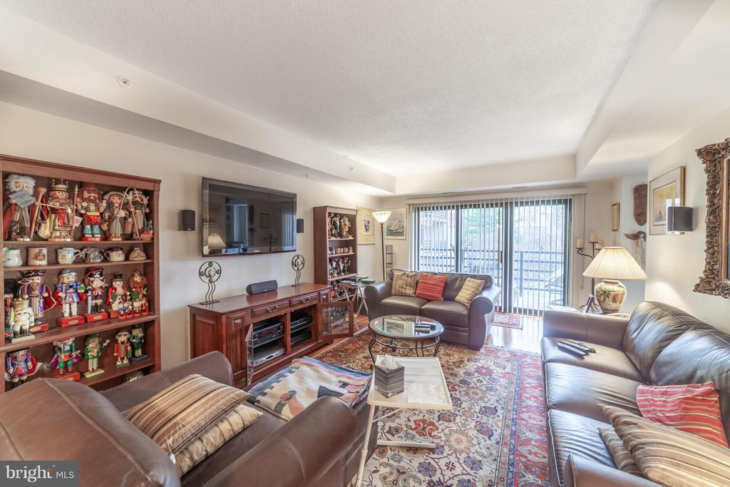 Family room with balcony - 10001 WINDSTREAM DR #207, COLUMBIA