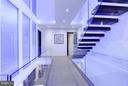 CUSTOM LED MOOD LIGHTING THROUGHOUT LIGHTWELLS - 3722 R ST NW, WASHINGTON