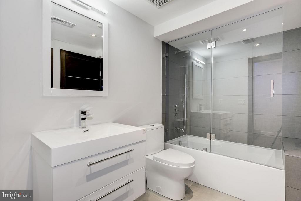 IN LAW SUITE BATHROOM - 3722 R ST NW, WASHINGTON