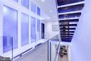 CUSTOM LED MOOD LIGHTING THROUGHOUT STAIRWELLS - 3722 R ST NW, WASHINGTON