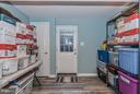New door to walk-up basement - 14930 KAMPUTA DR, CENTREVILLE
