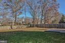 Huge backyard - 14930 KAMPUTA DR, CENTREVILLE