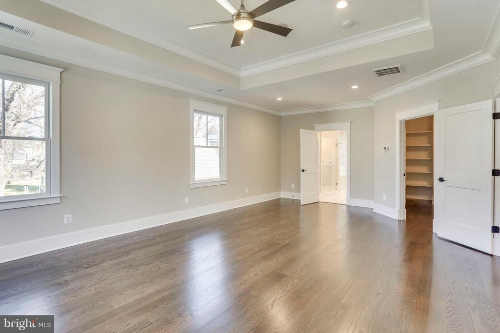 King-Sized Master Retreat with Tray Ceiling - 6713 19TH ST N, ARLINGTON