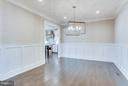 Wonderful Dining Room with Great Chandelier - 6713 19TH ST N, ARLINGTON