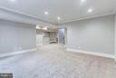 Incredibly Spacious, Walk-Up Recreation Room - 6713 19TH ST N, ARLINGTON