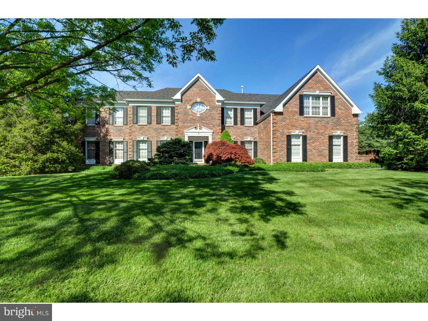 Single Family Home for Sale at 38 MILLBROOK Drive Princeton Junction, New Jersey 08550 United StatesMunicipality: West Windsor Twp