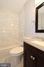 Upper level renovated full bath - 843 SMARTTS LN NE, LEESBURG