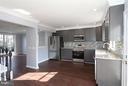 Spacious kitchen with table space - 843 SMARTTS LN NE, LEESBURG