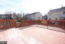 Large deck for relaxing! - 843 SMARTTS LN NE, LEESBURG
