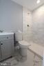 New lower level full bathroom with ceramic tile - 843 SMARTTS LN NE, LEESBURG