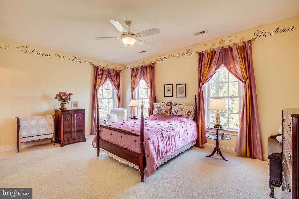 Bedroom 3 is a charmer. - 10 STEFANIGA FARMS DR, STAFFORD