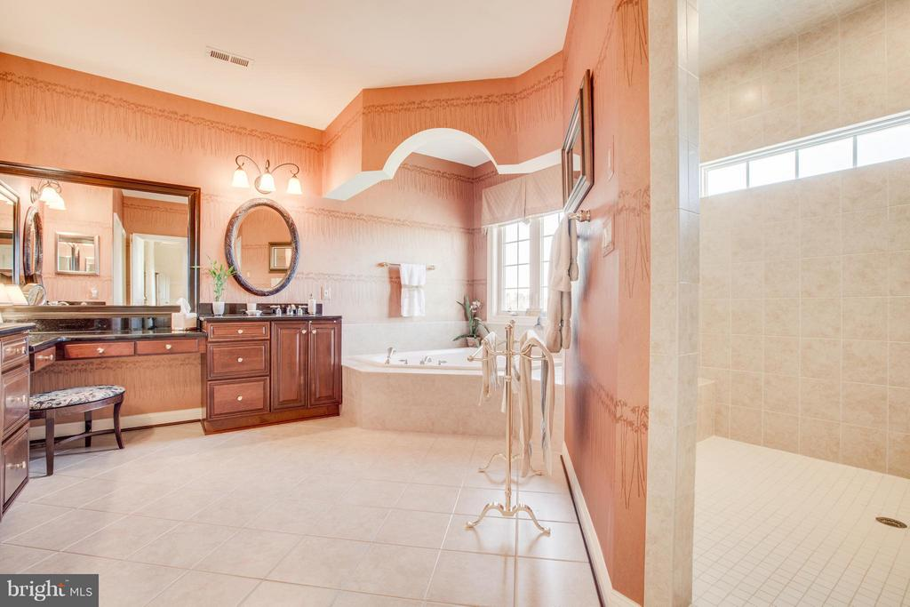 Owner's Bath is a delight, Includes Bidet. - 10 STEFANIGA FARMS DR, STAFFORD