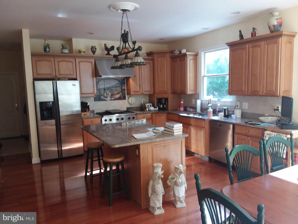 FULLY~fun & FUNCTIONAL CHEF's kitchen.. - 6142 WALKERS HOLLOW WAY, LOCUST GROVE