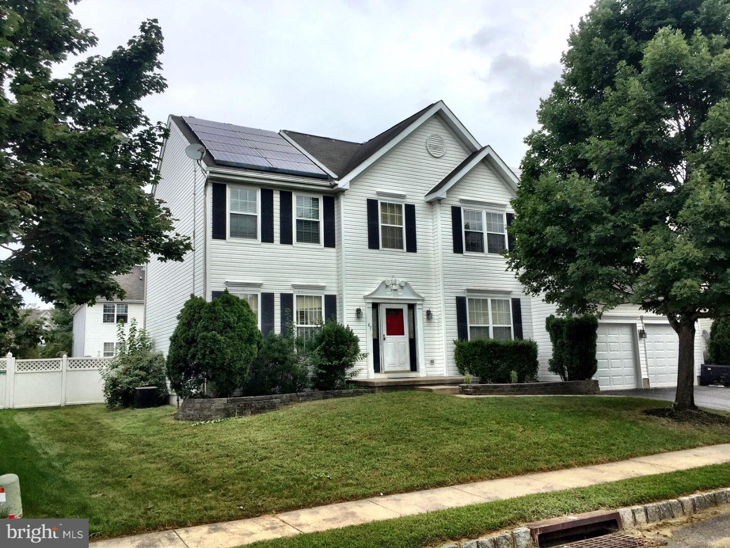 Single Family Home for Sale at 47 CANIDAE Street Burlington Township, New Jersey 08016 United States