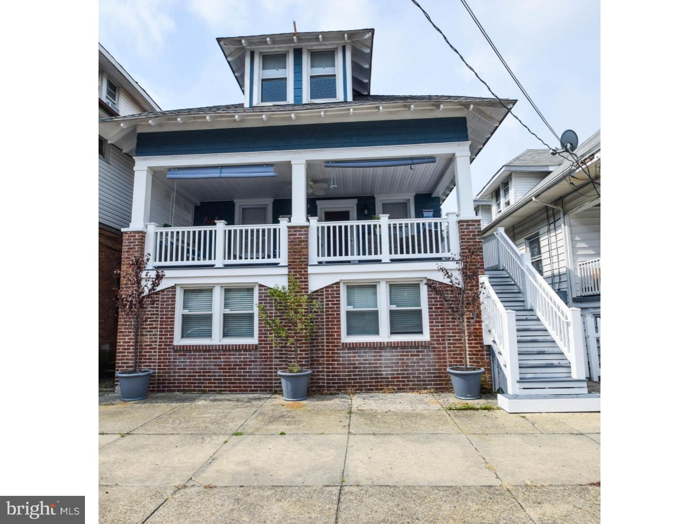 Single Family Home for Sale at 2 N HILLSIDE Avenue Ventnor City, New Jersey 08406 United States