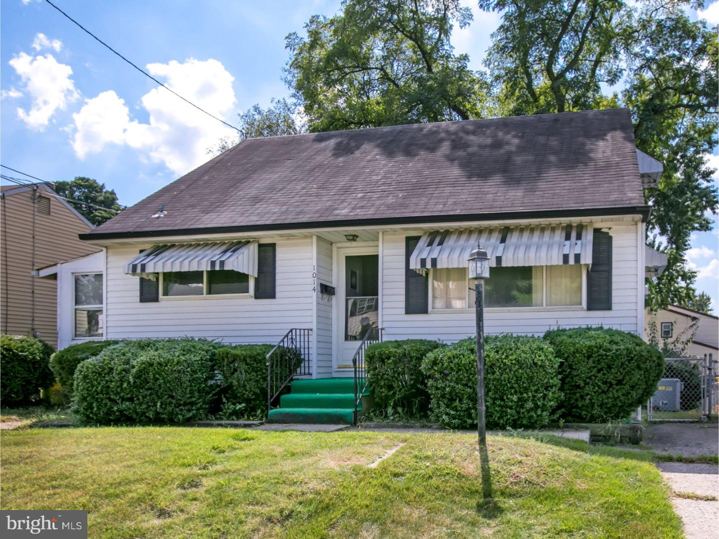 Single Family Home for Sale at 1014 STATION Avenue Glendora, New Jersey 08029 United States