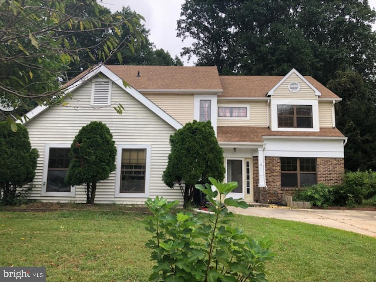 Single Family Home for Sale at 10 LAFAYETTE Drive Clementon, New Jersey 08021 United States