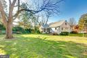 Great flat back yard with HUGE tree! - 2101 N QUINTANA ST, ARLINGTON
