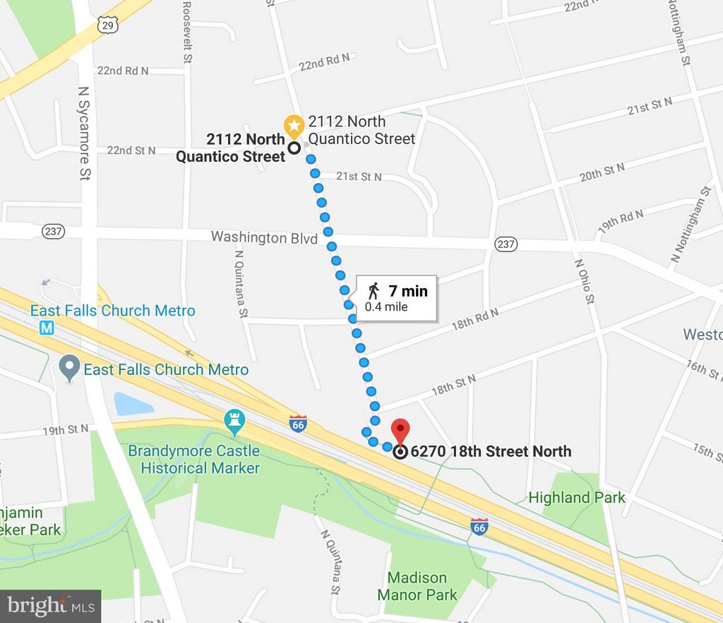 Two blocks to the W&OD Trail... Bike, walk, run! - 2101 N QUINTANA ST, ARLINGTON
