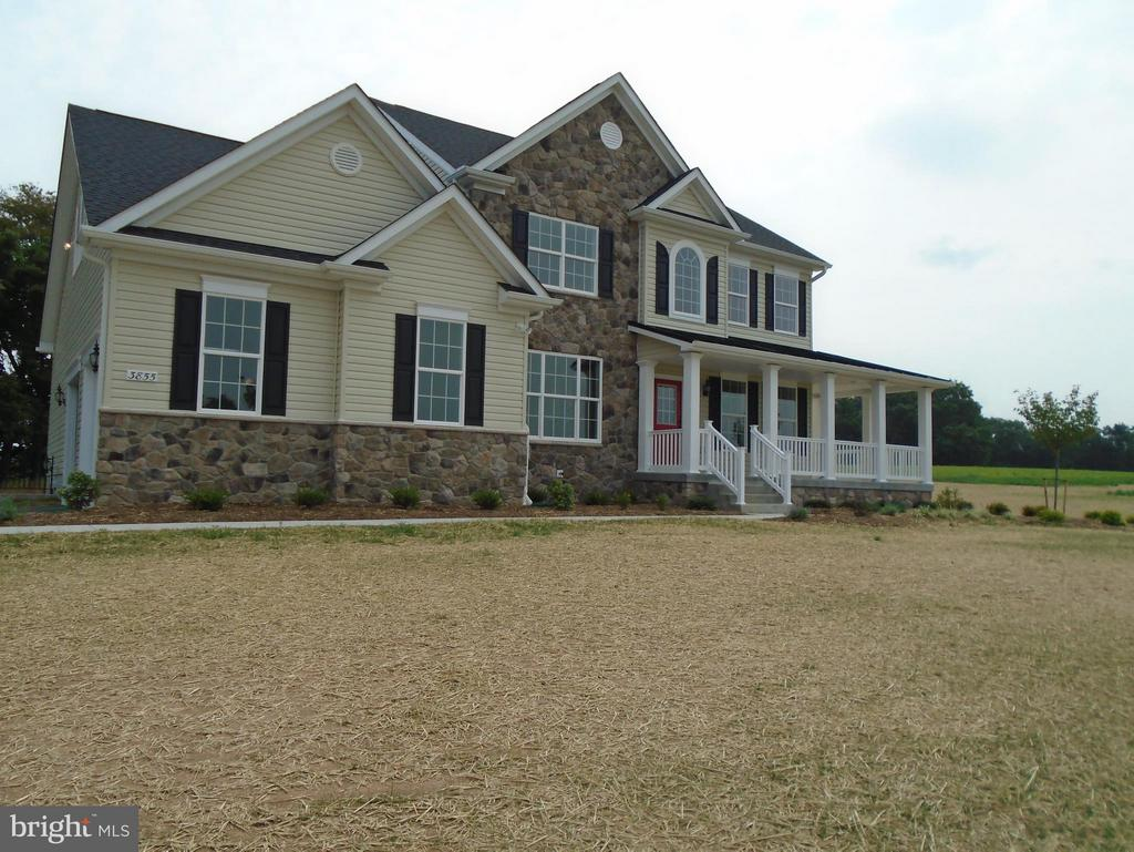 Another option for Front Elevation - 7831 HARRIET TUBMAN LN, COLUMBIA