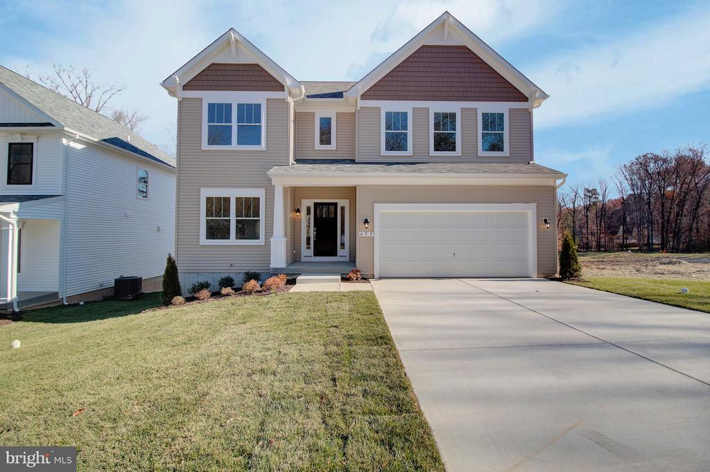 The James Model - Craftsman Elevation - 1406 CANOPY LN, ODENTON