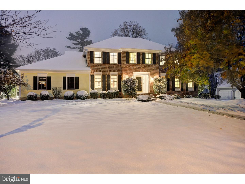 Single Family Home for Sale at 4 FITZCHARLES Drive Pennington, New Jersey 08534 United StatesMunicipality: Pennington Borough