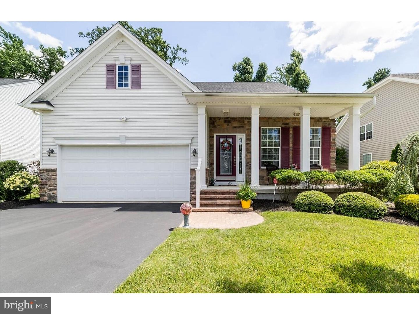 Single Family Home for Sale at 65 WOODBURY Court Clarksboro, New Jersey 08020 United States