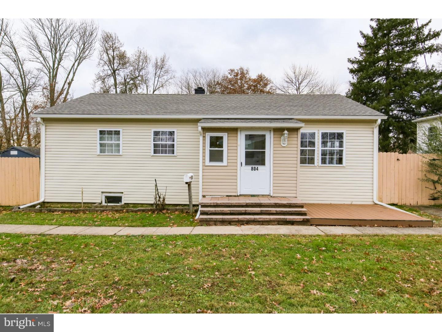 Single Family Home for Sale at 804 HARVEY Road Claymont, Delaware 19703 United States