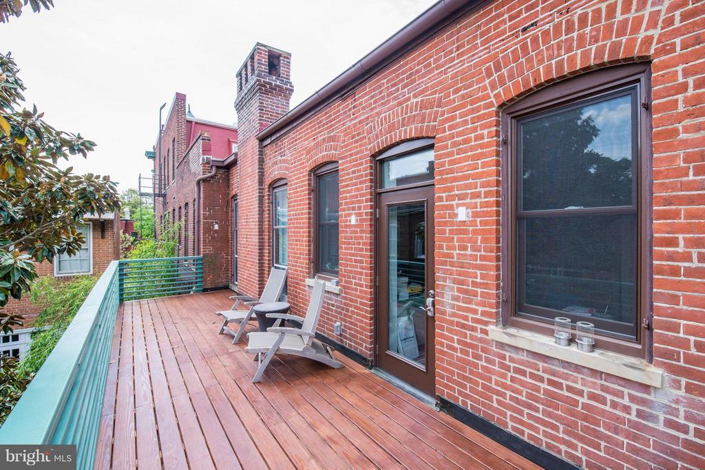 Private Master Bedroom Balcony - 506 A ST SE, WASHINGTON