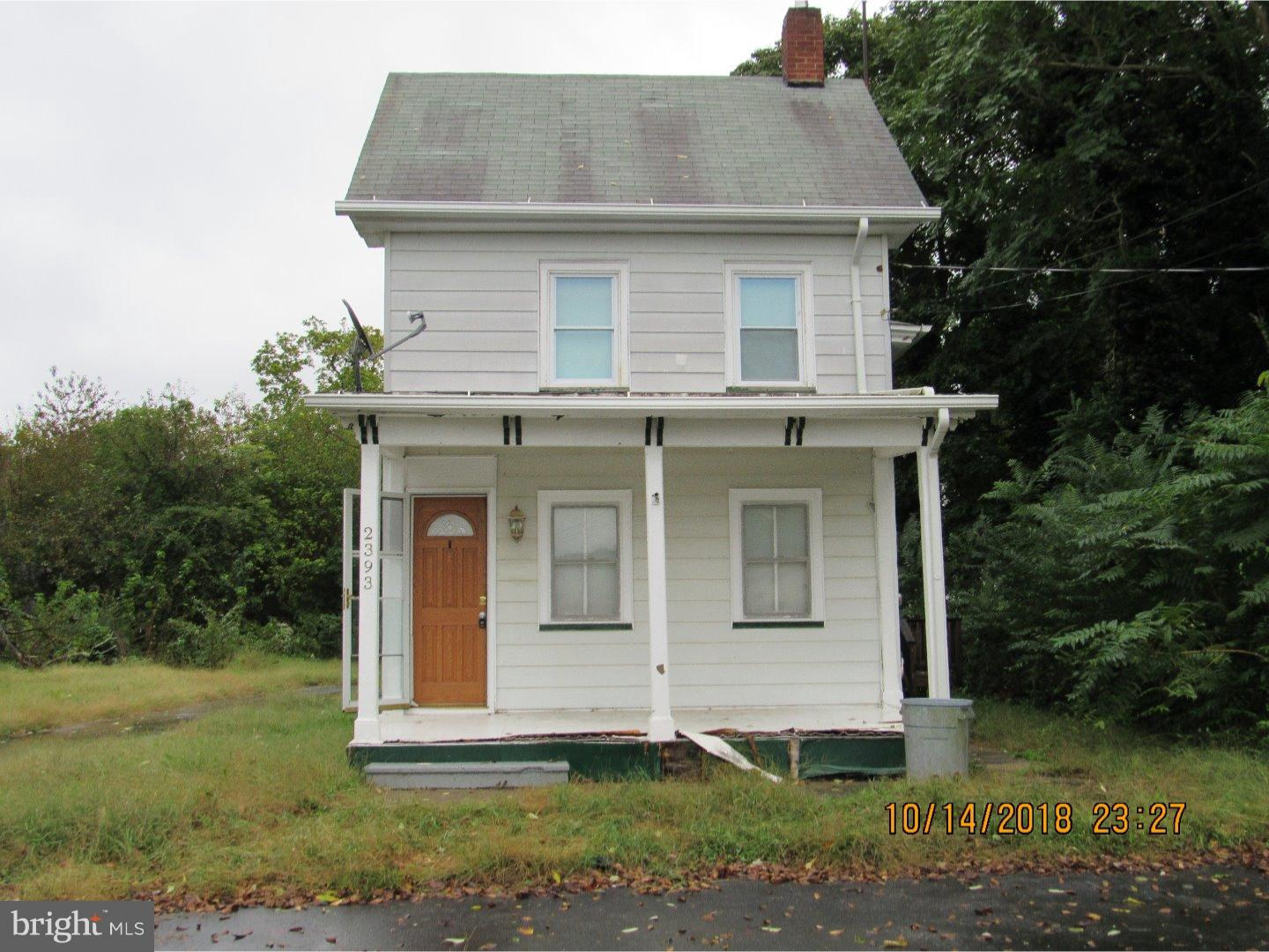 Single Family Home for Sale at 2393 MEMORIAL Avenue Port Norris, New Jersey 08349 United States