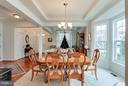 Dining Room w/ Bay Windows - 1906 EAMONS WAY, ANNAPOLIS