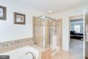 Master Bath with Seperate Shower - 1906 EAMONS WAY, ANNAPOLIS