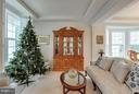 Living Room with Tray Ceilings and Crown Molding - 1906 EAMONS WAY, ANNAPOLIS