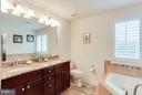 Master Bathroom with Double Vanities - 1906 EAMONS WAY, ANNAPOLIS