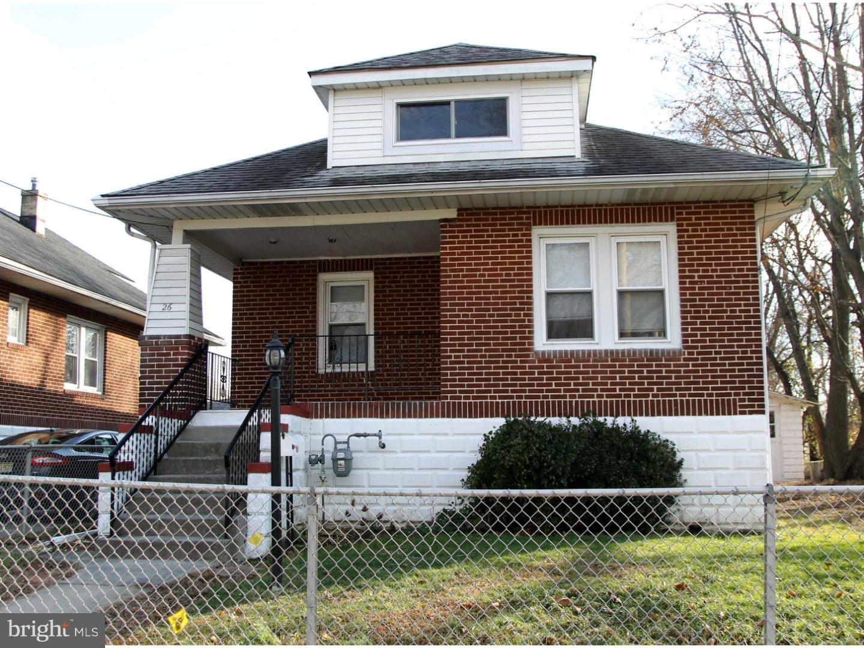 Частный односемейный дом для того Продажа на 26 W 7TH Avenue Runnemede, Нью-Джерси 08078 Соединенные Штаты