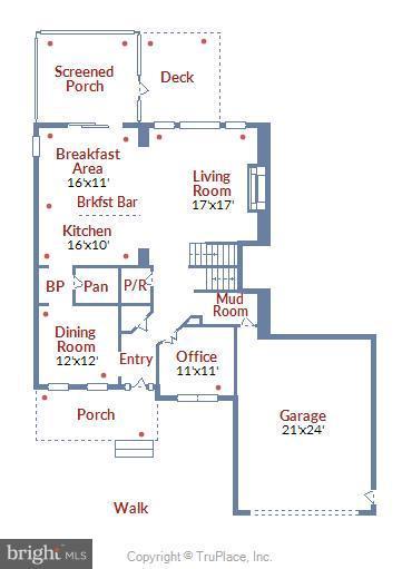 Floor plan - 299 BONHEUR AVE, GAMBRILLS