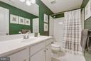 Full bath in lower level - 299 BONHEUR AVE, GAMBRILLS