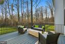 Deck with beautiful vista - 299 BONHEUR AVE, GAMBRILLS