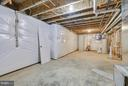 Unfinished basement area - 299 BONHEUR AVE, GAMBRILLS